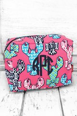 Lively Lobsters Cosmetic Bag