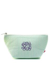 Seersucker Cosmetic Bag