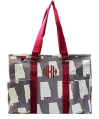 Alabama Large Organizer Tote
