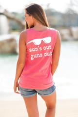 Sun's Out Guns Out Tank