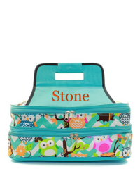 Owl Party Insulated Double Casserole Tote