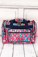 """Lively Lobsters 17"""" Duffel Bag"""