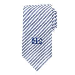 Seersucker Neck Tie