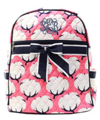 Cotton Fields Quilted Large Backpack