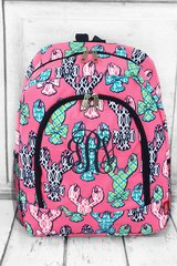 Lively Lobsters Large Backpack