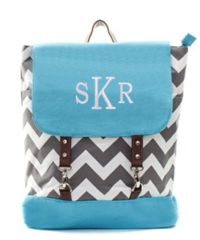Chevron Buckle Backpack