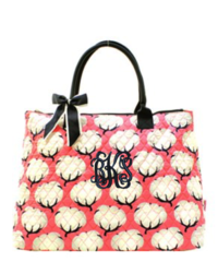 Cotton Fields Quilted Large Shoulder Tote