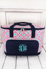 Moroccan Swirl Insulated Cooler Tote