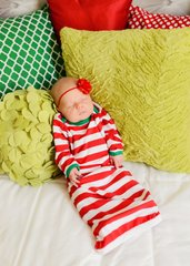 Classic Christmas Infant Gown PRE-ORDER