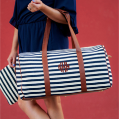 Chandler Stripe Duffel