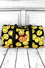 """Softball 21"""" Quilted Duffel Bag"""
