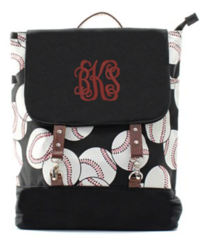 Baseball Buckle Backpack
