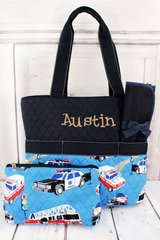 To The Rescue Quilted Diaper Bag