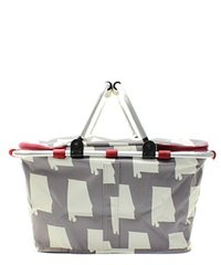 Alabama Insulated Market Tote with Lid