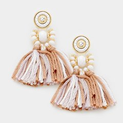 Madison Tasseled Earrings