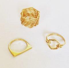 Zaria Ring Set