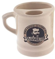 Ceramic Shaving Mug  #117 Left