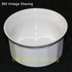 Ceramic Shave bowl - White