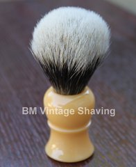 Shaving Brush Silvertip Faux Ivory