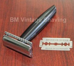 Merkur Double Edge Safety Razor 44C Black