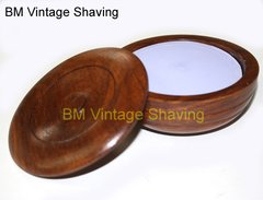 Taylor  Lavender Shaving Soap in Wooden Bowl