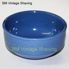 Ceramic Shave bowl - Blue