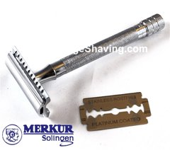 Merkur Long Classic Double Edge Safety Razor 23C
