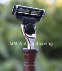 Mach 3 Razor Rosewood handle