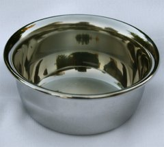 Shave Bowl - Chrome Plated
