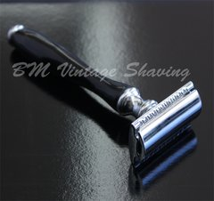 Double Edge Safety Razor - Horn Handle