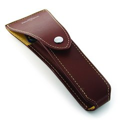 Edwin Jagger leather Razor Case - Brown empty