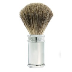 Edwin jagger Shaving Brush Pure Badger Chrome