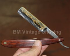 Dovo Straight Razor Cocobolo handle 5/8