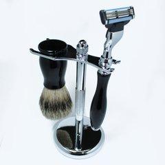 Mach3 Razor & Brush Shaving Set Ebony