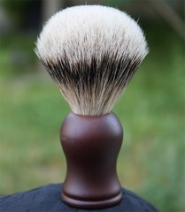Rosewood Silvertip Shaving Brush