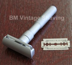Merkur Futur Double Edge Safety Razor Satin Finish