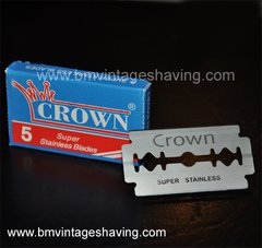 Crown- Super Stainless Blades 5pk
