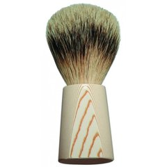 Dovo Silvertip Shaving Brush - Micarta Ivory Handle