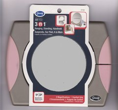 Goody Professional 3-in-1 Folding with Pink Side Mirror