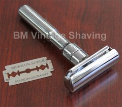 Merkur Futur Double Edge Safety Razor Chrome