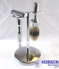 Merkur Futur 3pc Safety Razor Shaving Set Chrome