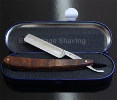 Dovo Straight Razor Desert Iron Wood 5/8
