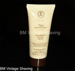 Taylor of Old Bond Street Sandalwood Travel Shaving Cream 30ml