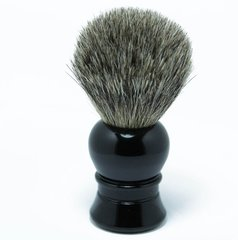 Pure Badger Shaving Brush Ebony