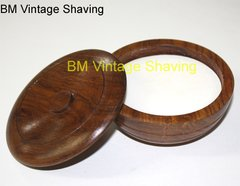 Taylor  Sandalwood Shaving Soap in Wooden Bowl