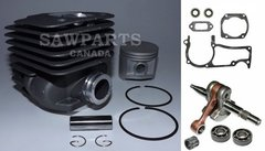 HUSQVARNA 371, 372, 375, 362, 365 Jonsered 2065, 2071, 2165, 2171 OVERHAUL REBUILD KIT STANDARD 50MM