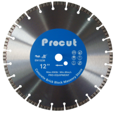 "SPC000303 - 12"" TURBO LASER WELDED DIAMOND SAW BLADE GENERAL USE 0835 090 7007"