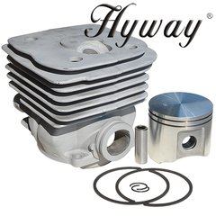 <>HUSQVARNA 390, 385 Jonsered 2186, 2188 Big Bore CYLINDER KIT NIKASIL 55MM