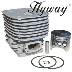 >HUSQVARNA, PARTNER K1250, K1260, 3120K, 3120, 3120EPA, 3120XP Hyway brand CYLINDER KIT NIKASIL 60MM