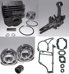 STIHL TS400 OVERHAUL REBUILD KIT NIKASIL 49MM